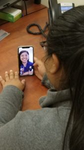 photo of telehealth visit