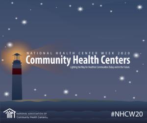 logo national health center week