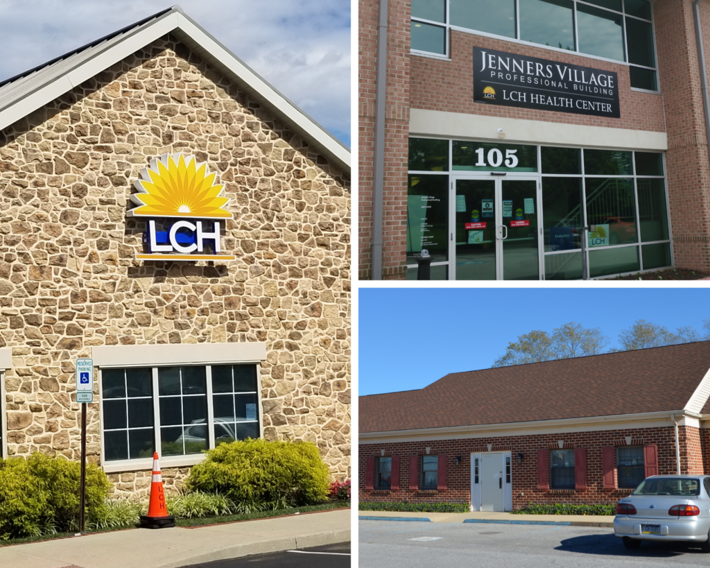 Photo collage of LCH Facilities