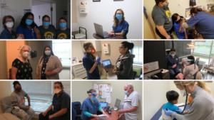 Photo collage LCH Staff