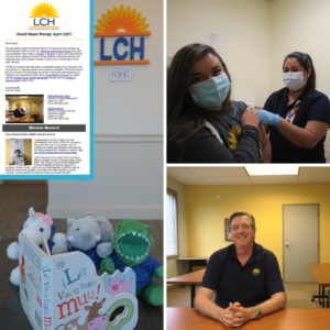 Photo collage of staff at LCH