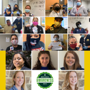 Photo Collage of staff and patients smiling