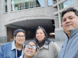 family photo of Rojos