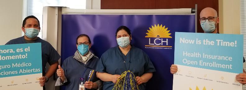 LCH Open Enrollment Team Photo