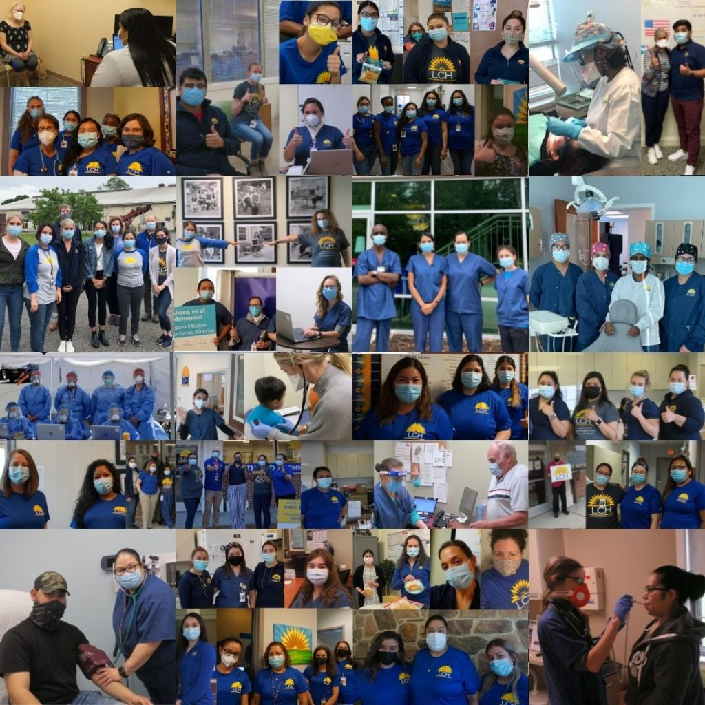 Team LCH Photo Collage of Staff