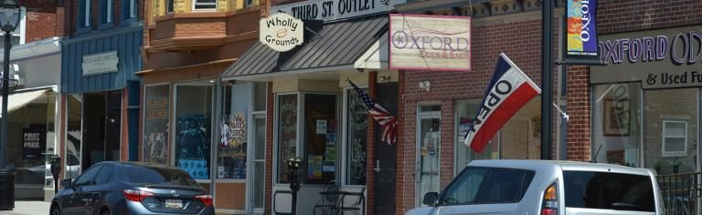 Photo of downtown Oxford PA